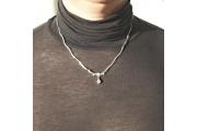 Strieborný náhrdelník Lujza
