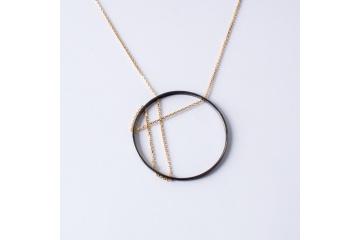 Stříbrný náhrdelník Janka