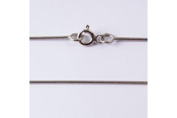 Stříbrný řetízek Flexi rhodiovaný X