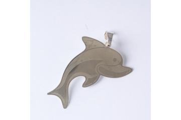 Stříbrný přívěsek Delfín