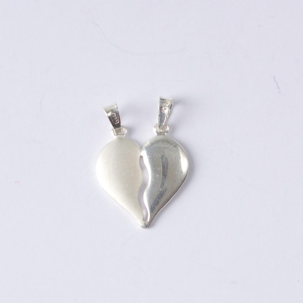 Stříbrný přívěsek Pro zamilované