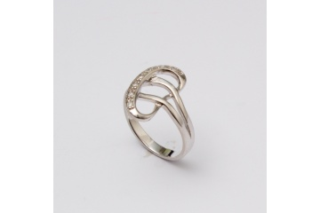 Stříbrný prsten Ty a já