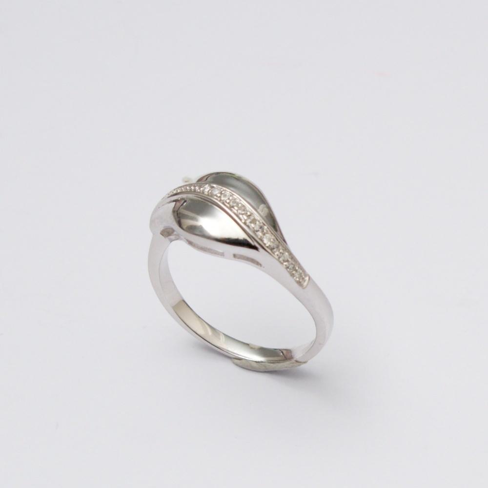 Stříbrný prsten Cesta
