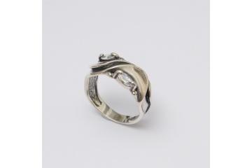 Stříbrný prsten Řecko