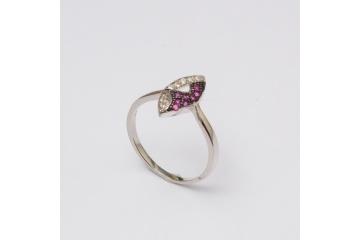 Stříbrný prsten Fedor