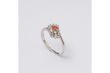 Stříbrný prsten Lili