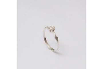 Strieborný prsteň Laco
