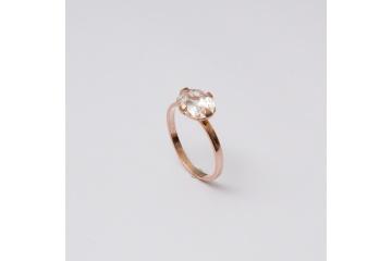 Strieborný prsteň Katarína