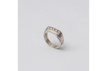 Retro prsteň Ag 925 Miško